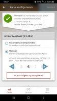 A1 WLAN Manager Screen