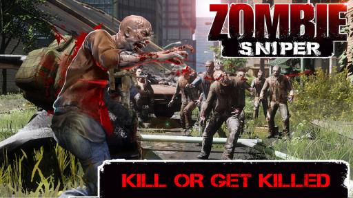 Zombie Sniper - Last Man Stand screenshot 1