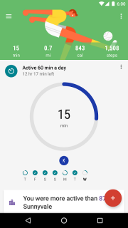 Google Fit - Fitness Tracking screenshot 1