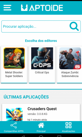 Aptoide Lite 2 0 2 Baixar APK para Android - Aptoide