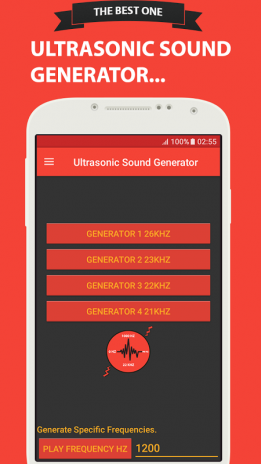Ultrasonic Sound Generator 17 7 Download APK for Android