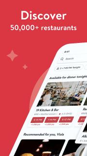 OpenTable - Book Restaurants screenshot 2