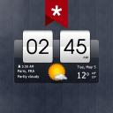 Sense Flip Clock & Weather (Ad-free)