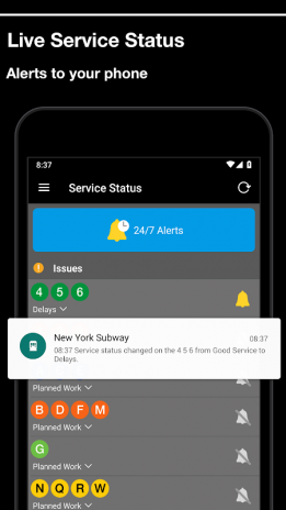 Portable Nyc Subway Map.New York Subway Official Mta Map Of Nyc 4 5 1 Download Apk For