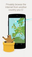 TunnelBear VPN Screen
