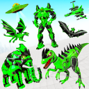 Dino Robot Transport Truck Transform Robot Games