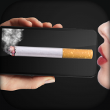 Virtual Cigarette Smoking Icon