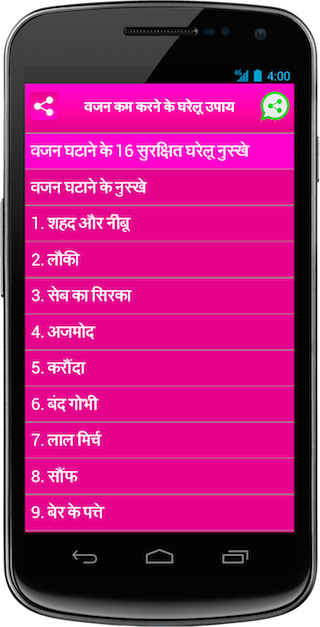 Weight Loss Tips In Hindi 1 0 Download Android Apk Aptoide