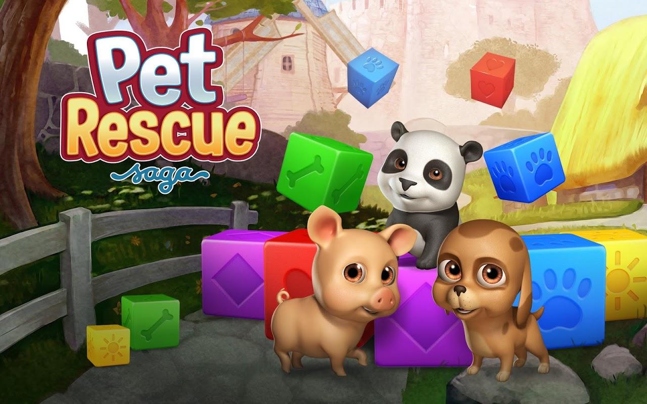 Pet Rescue Saga screenshot 2
