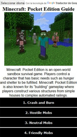 minecraft pocket edition tips and guides