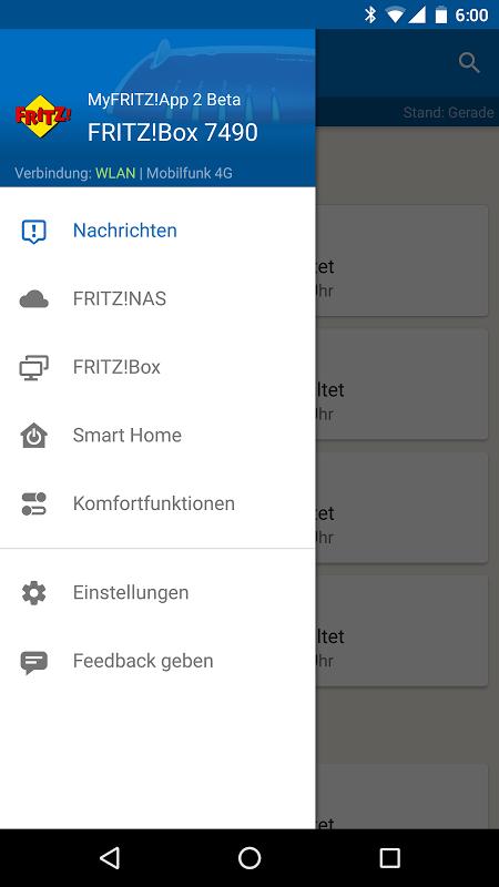 MyFRITZ!App screenshot 1