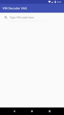 VIN Decoder VAG 1 14 Download APK for Android - Aptoide