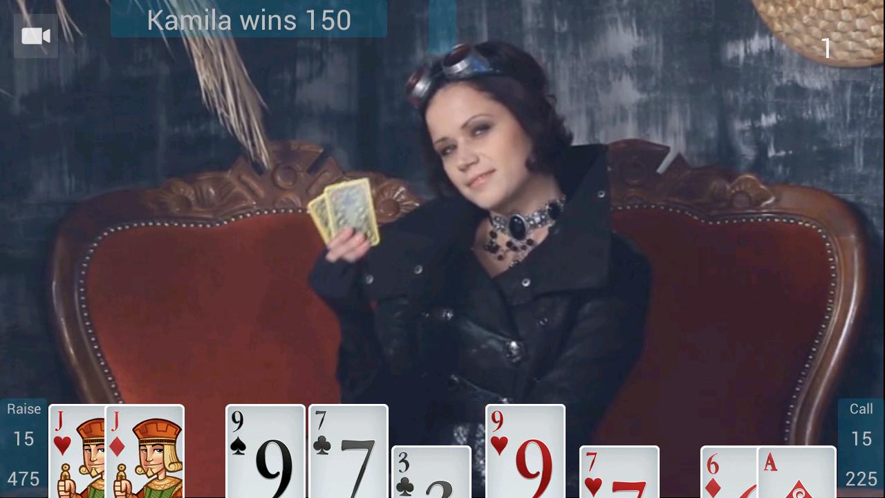 Stip poker video