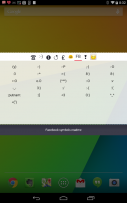 CoolSymbols Screenshot