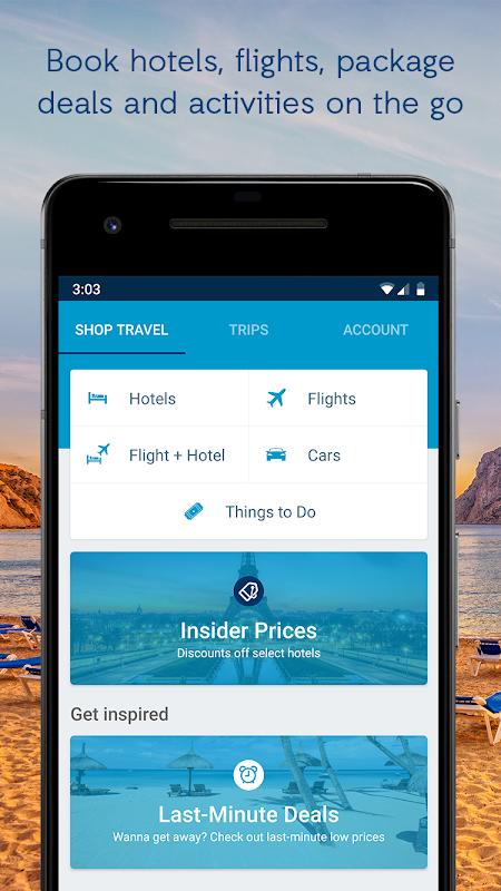 ebookers - Hotels, Flights & Package deals screenshot 1