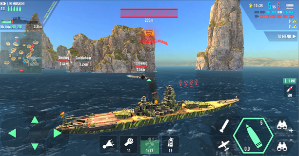 Battle of Warships: Naval Blitz 1 70 4 Download APK for Android