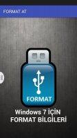FORMAT AT Screen