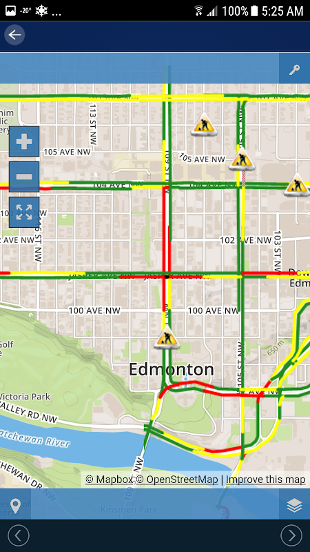 CTV News Edmonton Weather screenshot 2