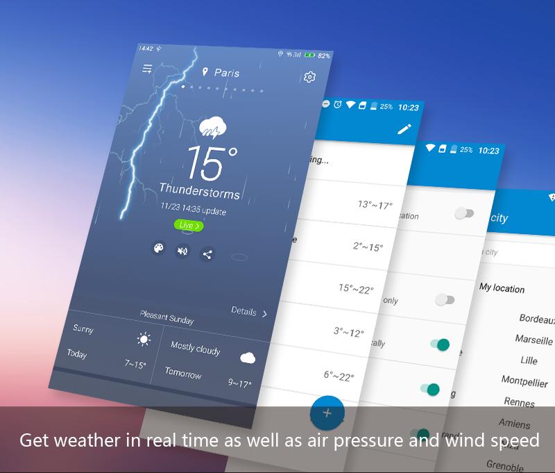 APE Weather ( Live Forecast) screenshot 2