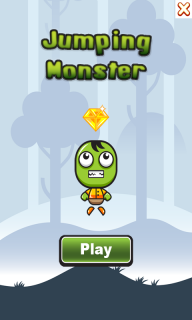 Jumping Monster screenshot 1