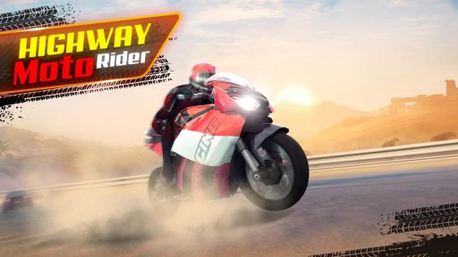 Highway Moto Rider - Traffic Race screenshot 1