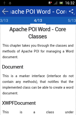 Apache poi tutorial word doc