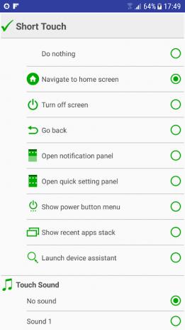 HomeTouch : Fingerprint touch action + home button 3 0 Download APK