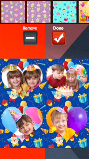 Birthday Party Collage screenshot 4