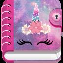 Einhorn Tagebuch Mit Passwort - Geheimes Tagebuch