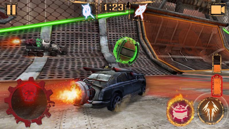 Bola de Foguete - Rocket Car Ball screenshot 1