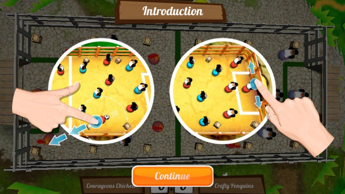 Get the Egg: Foosball screenshot 2