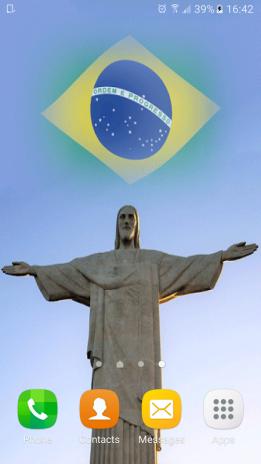 Brazil Flag Live Wallpaper 3d 10 Download Apk For Android Aptoide
