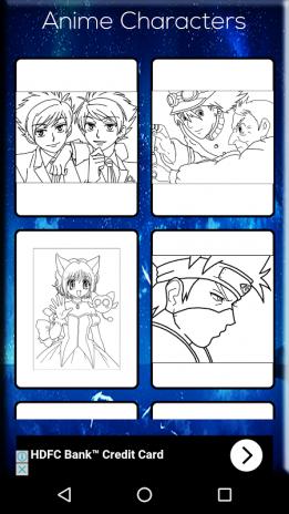 Anime Coloring Book Screenshot 7