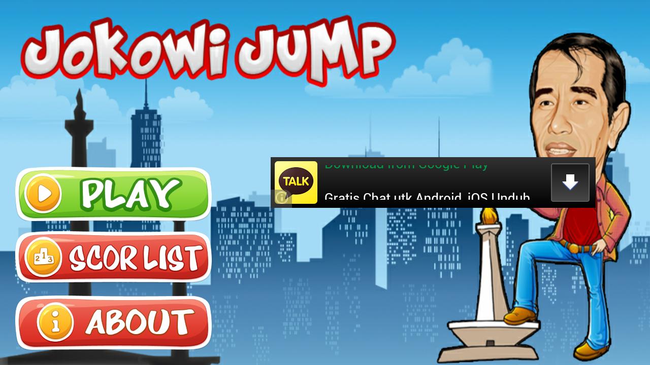 Jokowi Jump screenshot 2