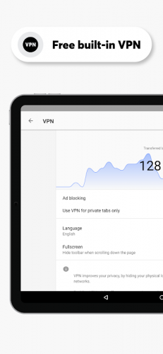 Opera Browser: Fast & Private screenshot 10