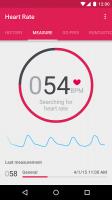Runtastic Heart Rate Monitor Screen