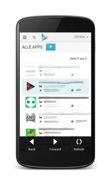 Android developer play store download apk for android aptoide - Android console application ...