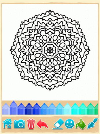 Páginas para colorear Mandala 9.7.2 Descargar APK para Android - Aptoide