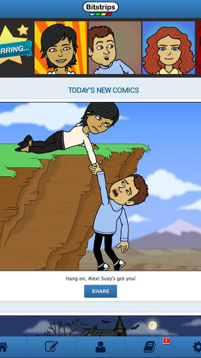Bitstrips Screenshot
