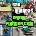 San Andreas Crime Fighter City