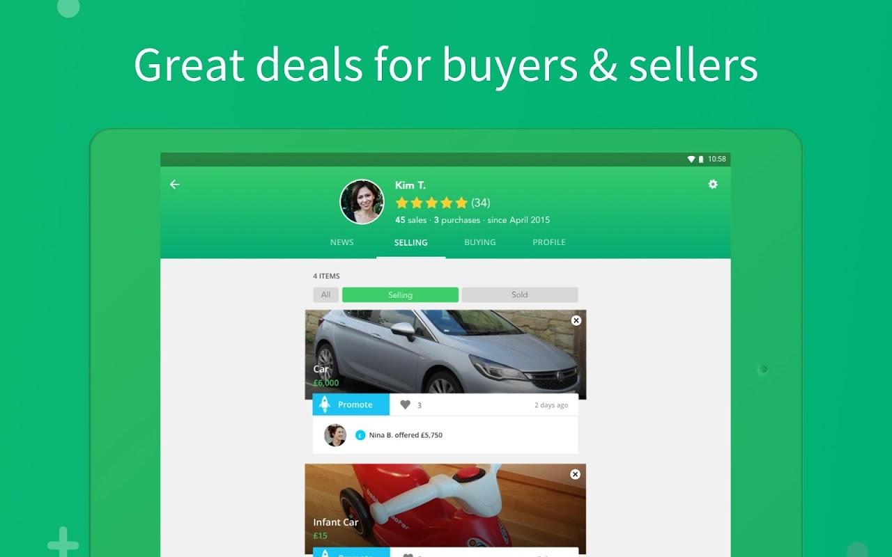 Shpock - Local Marketplace. Buy, Sell & Make Deals screenshot 2