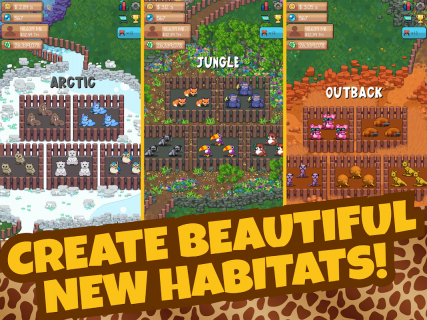 Idle Tap Zoo: Tap, Build & Upgrade a Custom Zoo 1 2 1