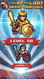 Idle Sword 2: Incremental Dungeon Crawling RPG screenshot 2
