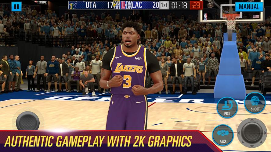 NBA 2K Mobile Basketball Game screenshot 1