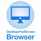 Desktop FullScreen Web Browser Icon