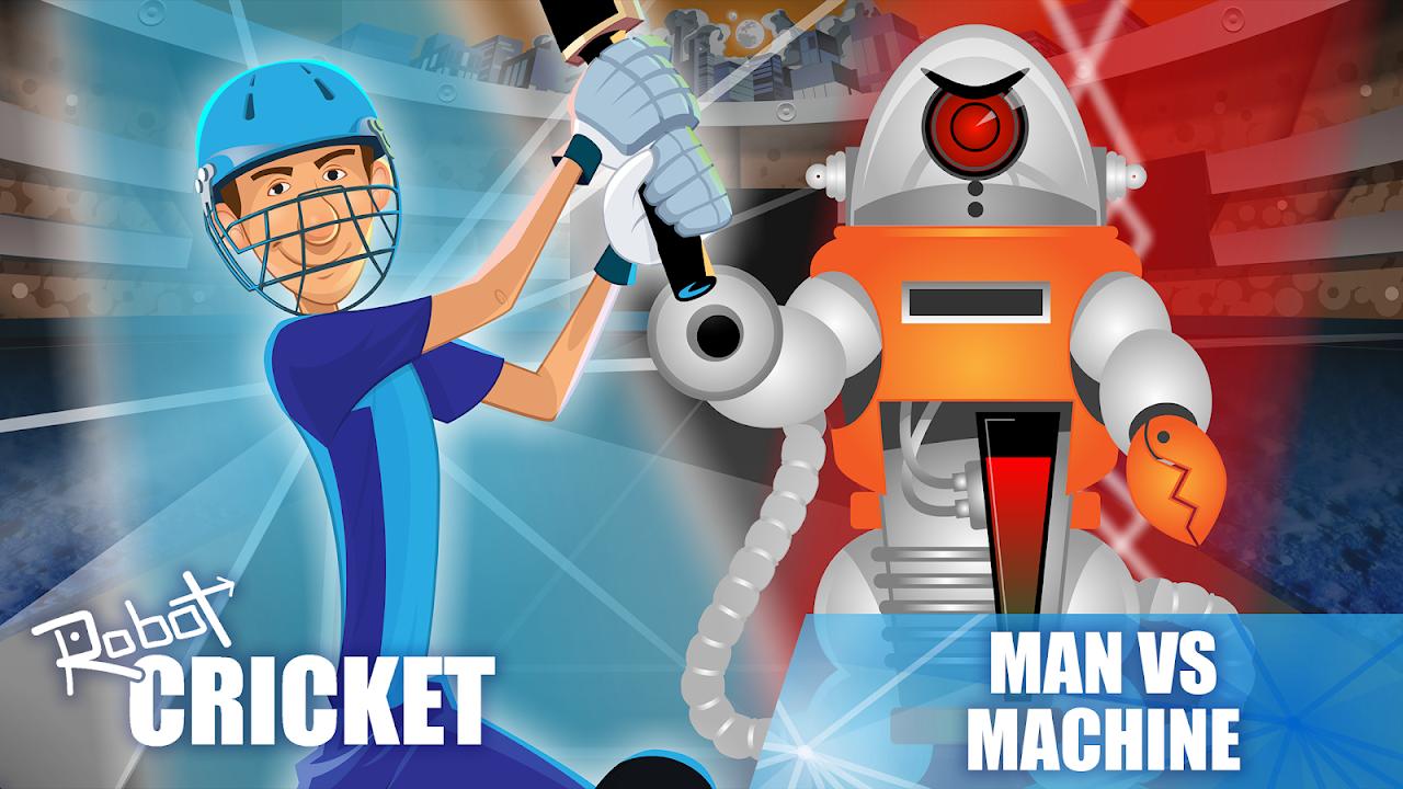 Robot Cricket screenshot 1