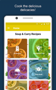 Soup & Curry Recipes: Healthy Nutritious Diet Tips screenshot 1