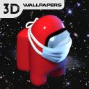 among us wallpapers live HD 4K & 3d lock screen