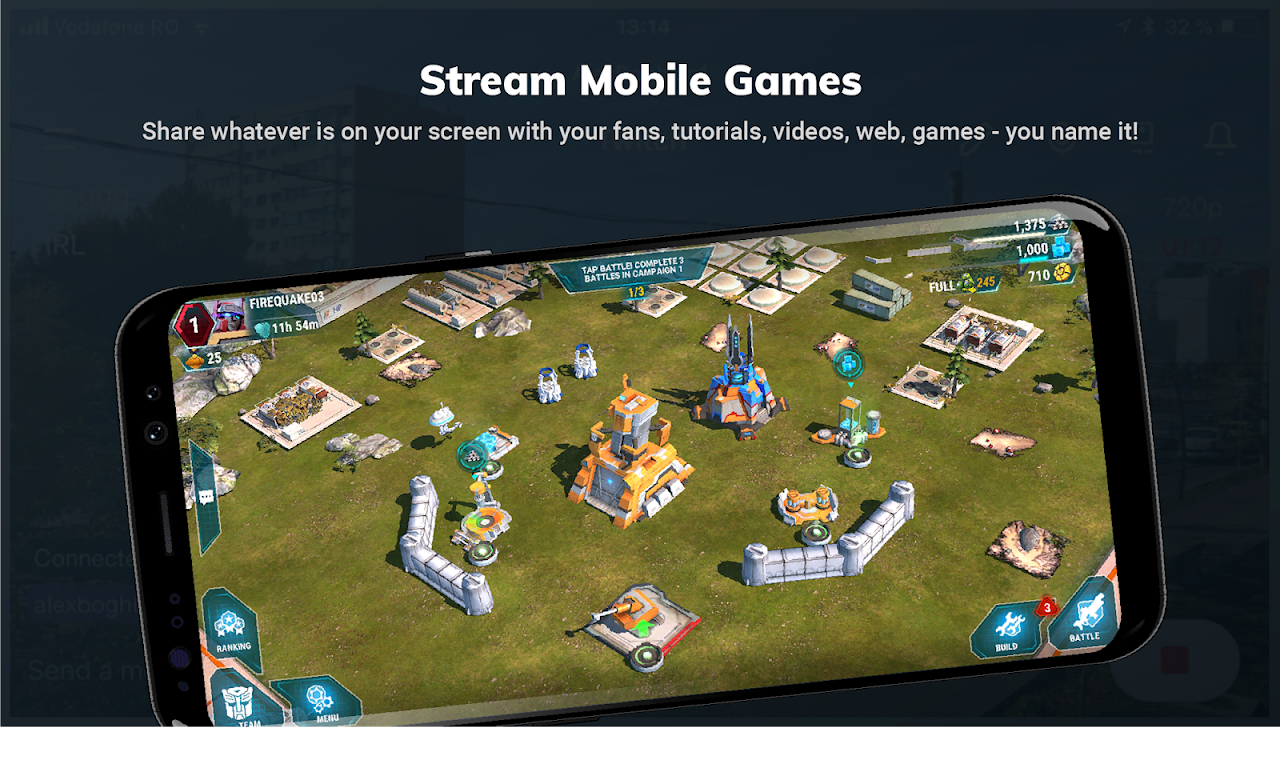 Streamlabs - Stream Live to Twitch and Youtube screenshot 2