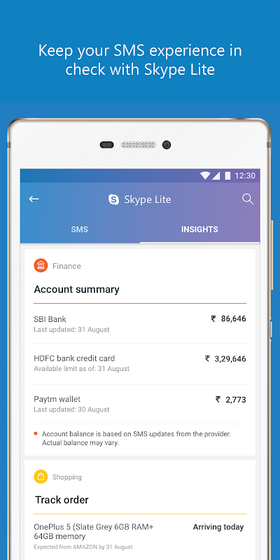 Skype Lite - Free Video Call & Chat screenshot 4